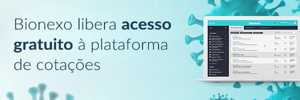 Bionexo libera acesso gratuito à plataforma de cotações