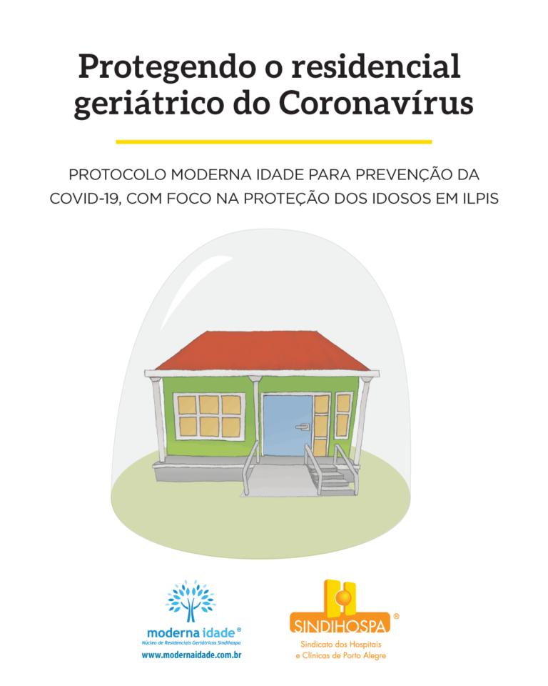 Cartilha: protegendo o residencial geriátrico do coronavírus
