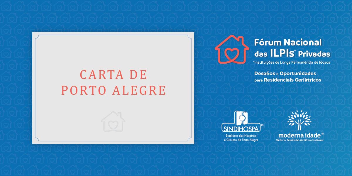 Leia a Carta de Porto Alegre